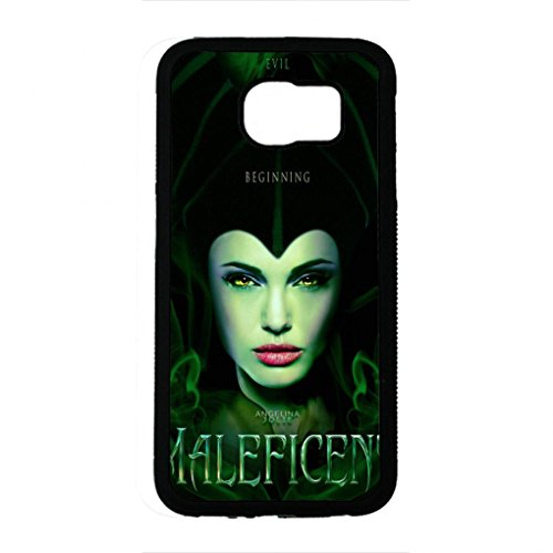 Preisvergleich Produktbild Fantasy Amazing Maleficent Samsung Galaxy S6 Case,Maleficent Phone Case Black Hard Plastic Case Cover For Samsung Galaxy S6