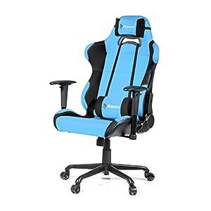 Arozzi Torretta XL – Silla (Asiento Acolchado, Respaldo Acolchado, Azul, Azul, Negro, Tela)