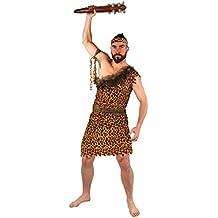 ILOVEFANCYDRESS - Disfraz de cavernícola para hombre (varias tallas) multicolor amarillo XL