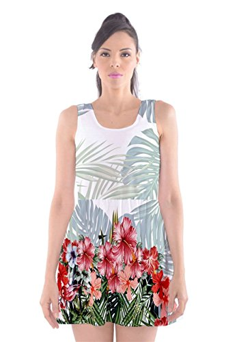 CowCow -  Vestito  - Donna Red Hawaii