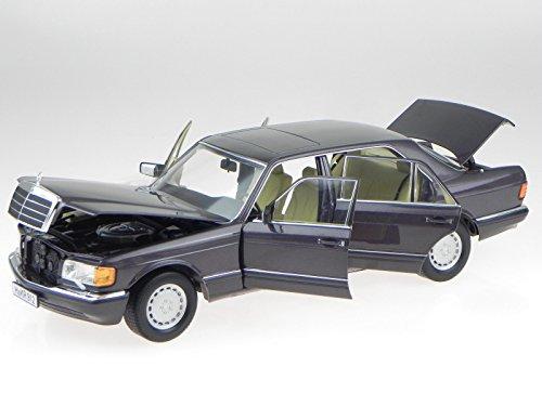 Mercedes W126 560 SEL S-Klasse bornit 91 Modellauto 183544 Norev 1:18