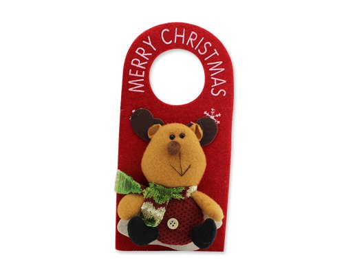 DSstyles Natale Porta Manopola Gancio di Natale, Xmas Party Festival Porta Appendere le Decorazioni di Ornament - Renna