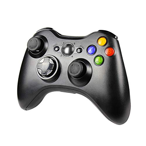 JAMSWALL Wireless Controller für Xbox 360, Xbox 360 Wireless Controller Dual Vibration Ergonomisches Design Gamepad Joypad für Xbox 360 und PC Windows 7/8/10