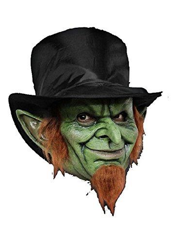 Irischer Goblin Maske zum Kobold Leprachaun Kostüm (Für Kostüme Halloween Goblin)
