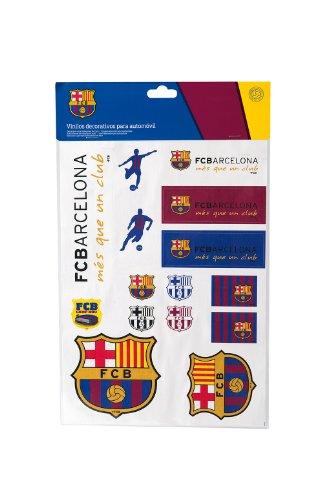 ¡Sienta el orgullo del Futbol Club Barcelona! Este producto es parte de la colección oficial de accesorios para automóvil del Barça con la colaboración de SUMEX. Dispone de parasoles, alfombras, emblemas, adhesivos, almohadillas, fundas de asiento, f...