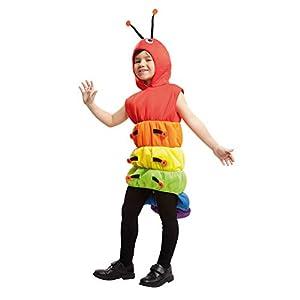 My Other Me Me-203417 Disfraz de gusano para niño, 7-9 años (Viving Costumes 203417