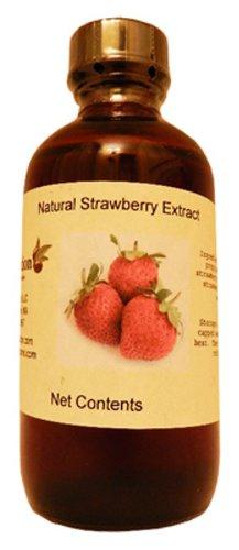 OliveNation Extracto puro de fresa 4 oz