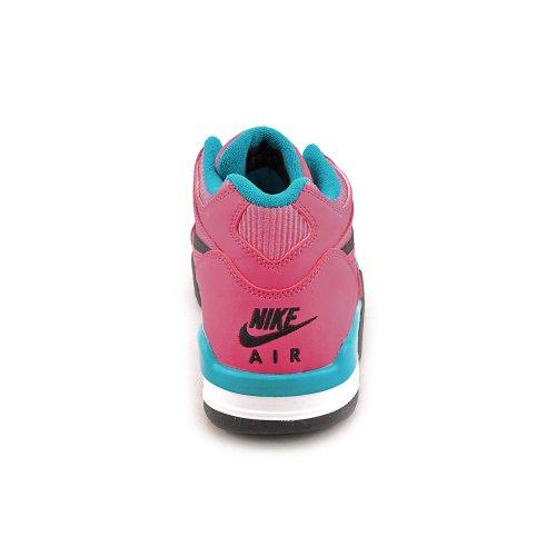 Nike Kids Air Flight 89 '(gs) Basketball-Schuh Pink/Hellblau/Schwarz
