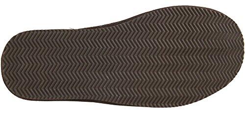 Lambland Homme/Homme complet en peau de mouton Pantoufle/chocolat/bleu marine/marron/Taille 6–13uk Marron - Marron