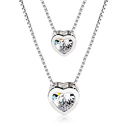 J.Rosée 925 Sterling Silver 3A Cubic Zirconia