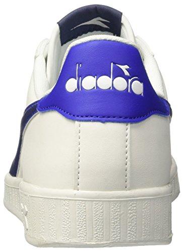 Diadora Herren Game P Sneaker Elfenbein (bco Blu Estate Azzurro Scuro)