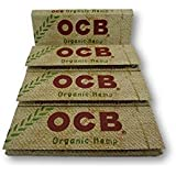 OCB Organic Hemp Single Regular Mini Rolling Papers Cigarette Papers Smoking Papers Pack Of 4 Booklets From SUDESH ENTERPRISES
