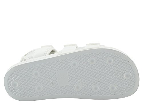 Adidas Adilette Straps Donna Sandalo Bianco White