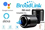 BroadLink SmartHome per SmartHome per remoto a infrarossi IR per Broadlink RM Mini3 per iPhone Android 4.0 + Telefono mobile, WiFi + IR