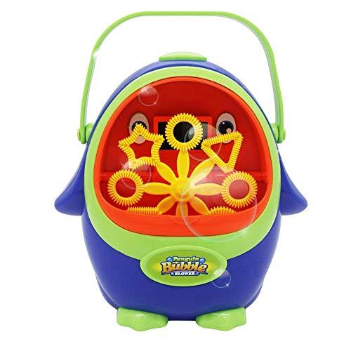 PerGrate Elektrisches Blasen-Maschinen-Pinguin-automatisches Blasen-Gebläse-Hersteller-Kind-Spielzeug für Party im Freien
