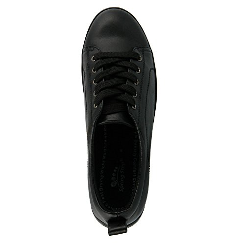 Spring Step Wiress RT Oxford Cuir Oxford Black