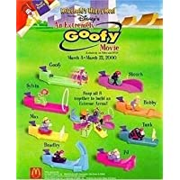 (Set of 8) Mcdonalds , an Extremely Goofy Movie 2000 by McDonalds