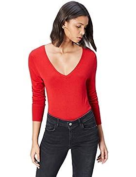 FIND Suéter Cuello en V Mujer