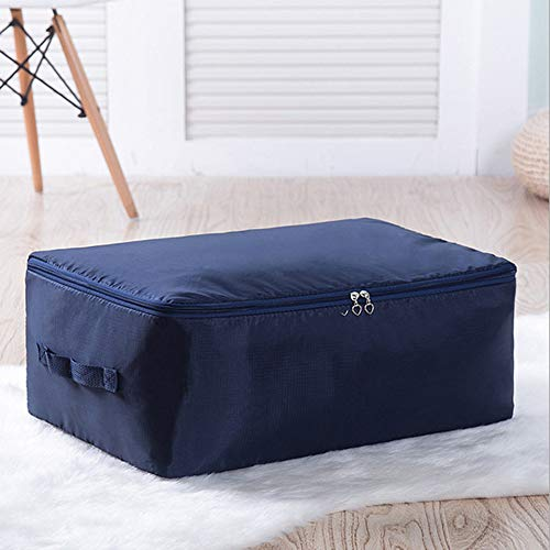 SDELL Aufbewahrungsschränke Kleidung Multifunktionale Aufbewahrungstasche Quilt Tasche Lazy Man Tasche Oxford Tuch Quilt Clothes Aufbewahrungstasche 60 * 50 * 28Cm B11 (Tasche Quilt)