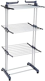 AmazonBasics Indoor Clothes Dryer Tower with Foldable Wings