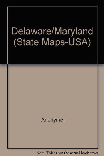 Delaware/Maryland carte état
