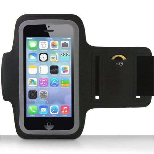 AFUNTA sportivo fascia da braccio Custodia + portachiavi per Apple Iphone, Ipod Touch 5protettiva Palestra