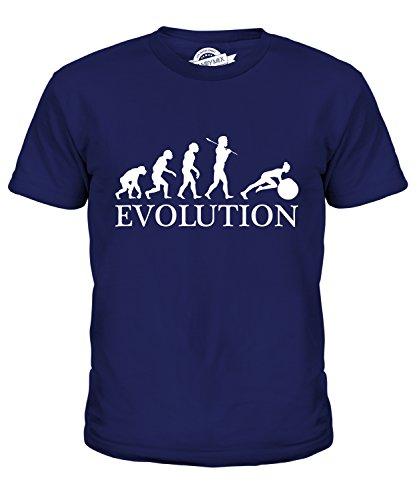 Candymix Swiss Gym Ball Evolution of Man Unisex Kids T Shirt Boys/Girls/Toddler/Children T-Shirt