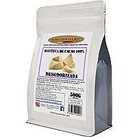 Cacao Venezuela Delta · Manteca De Cacao 100% · Desodorizada · 500g - Calidad Extra