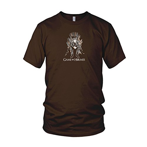 Game of Holmes - Herren T-Shirt Braun