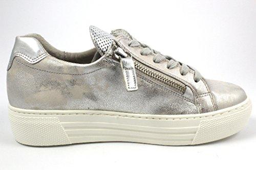 Gabor 66.468-61, Sneaker Donna Grau