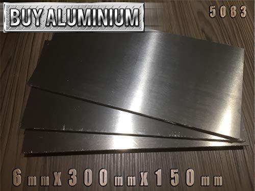 Placa de aluminio de 6 mm - 5083