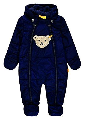 Steiff Jungen Schneeoverall Schneeanzug, Blau (Marine|Blue 3032), 92
