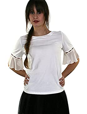 LIU JO T-shirt donna in cotone  db6af7b89ee