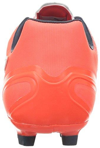 Puma Evospeed 3.4 Lth Ag, Herren Fußballschuhe Orange (lava Blast-white-total Eclipse 01)