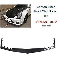 Jcsportline in fibra di carbonio anteriore chin spoiler per Cadillac cts-v Coupe berlina Wagon 201120122013