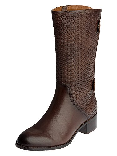 Liebeskind Berlin LS0054 vitello woven, Stivali donna Marrone