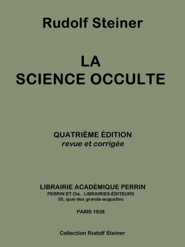 La science occulte (Collection Rudolf Steiner t. 13)