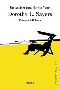 Un cadáver para Harriet Vane par  Dorothy L. Sayers