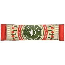 Pulsin Porridge Riegel 40g - Apple & Cinnamon - Milchfrei, Sojafrei, Glutenfrei, Zuckerfrei - Haferriegel mit Apfel und Zimt (Apple & Cinnamon)