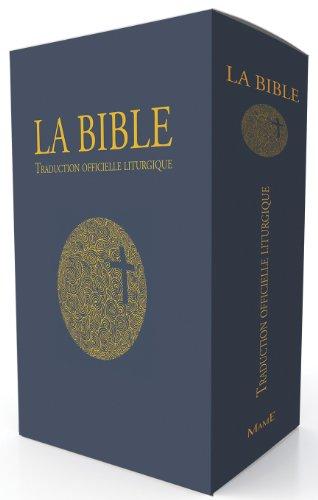 La Bible : Traduction officielle liturgique, édition cadeau reliée souple (tranche dorée) par Association Episcopale Liturgique pour les pays Francophones