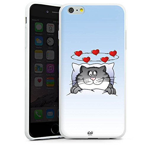 Apple iPhone X Silikon Hülle Case Schutzhülle Uli Stein Fanartikel Merchandise Cartoon Silikon Case weiß