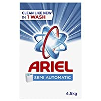 Ariel Laundry Powder Detergent Original Scent 4.5 kg, Pack of 1