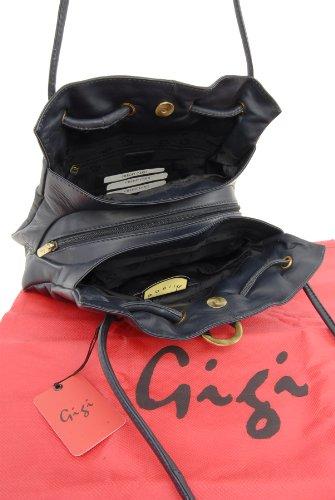 Borse a spalla di Gigi in pelle - Othello 4323 Blu scuro