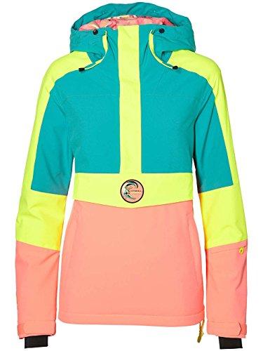 Cazadora de snow, O 'Neill Frozen Wave Anorak Jacket Snow, otoño/Invierno, Mujer, Color Spring Grass, tamaño Extra-Large