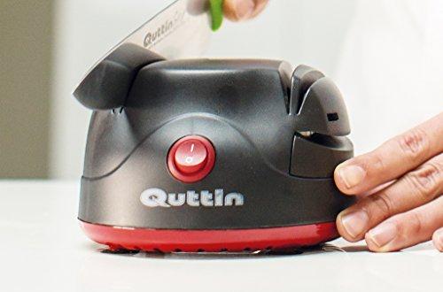 Quttin QT-760565-1 QT-760565-Afilador Eléctrico Compacto, 60w-230v/50Hz, 60 W, Acero Inoxidable