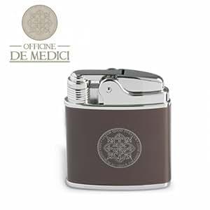 Briquet rechargeable tuscany officine de medici marron