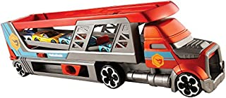 Hot Wheels camion transporteur de petites voitures et lanceur, pour transporter jusqu'à 14 petites voitures, jouet pour enfant, CDJ19 (B00MYWGJAM) | Amazon price tracker / tracking, Amazon price history charts, Amazon price watches, Amazon price drop alerts