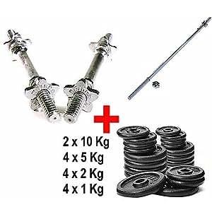 Kit Bilanciere + Manubri + 52 kg Pesi