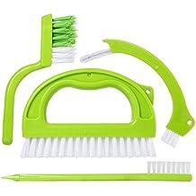 winwill Cepillos para Azulejos, Limpiador de lechada, Limpiador de Juntas para Limpieza de baño