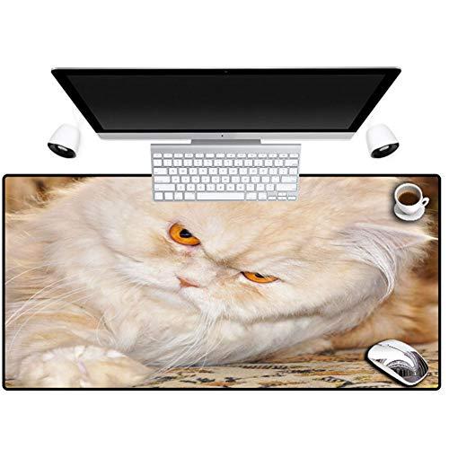 TYBSTA Mauspad Katze Desktop Tastatur Maus Pad Laptop Kühler Matte Rechteck Präzision Manschette Spiel Spiel Mauspad Matten